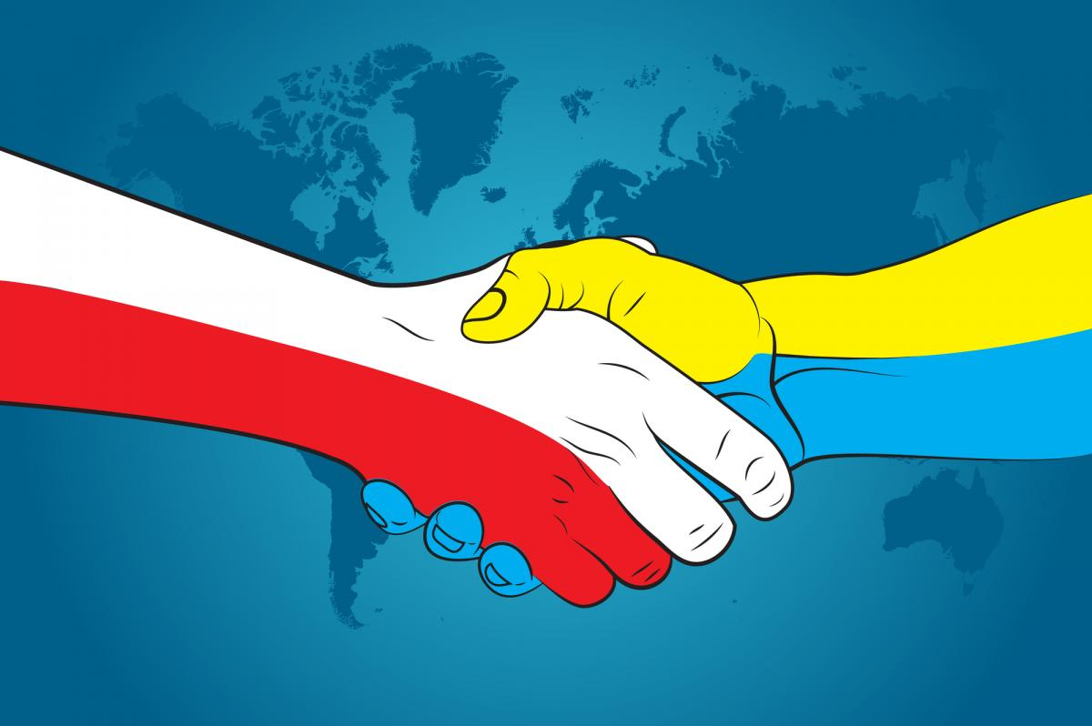 Poland says it supports Ukraine's independence and sovereigntty Image from depositphotos.com