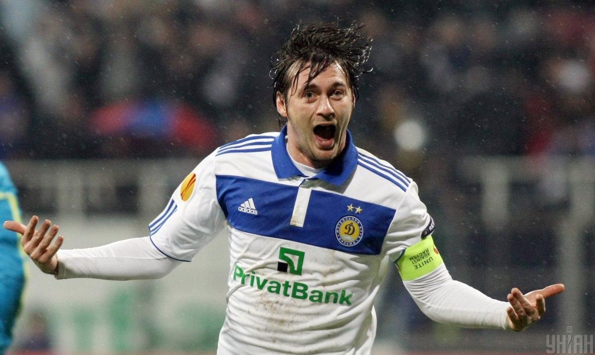 Артем Милевский был игроком Динамо до 2013 года / фото УНИАН