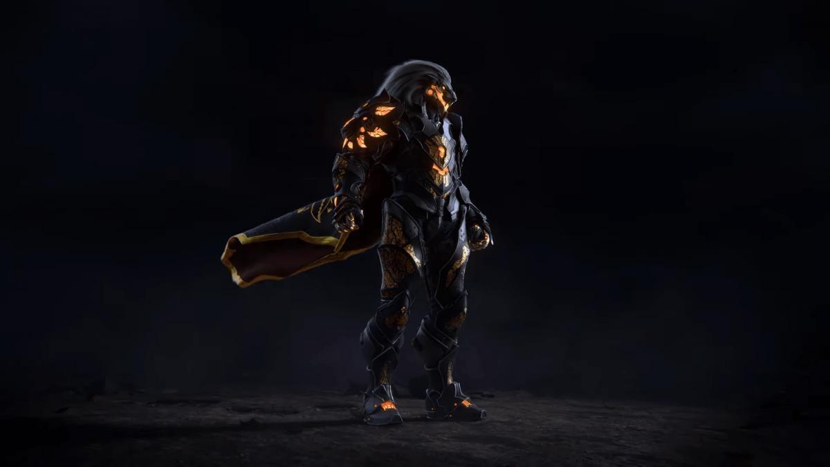 Silvermane - один з героїв гри Godfall / скріншот