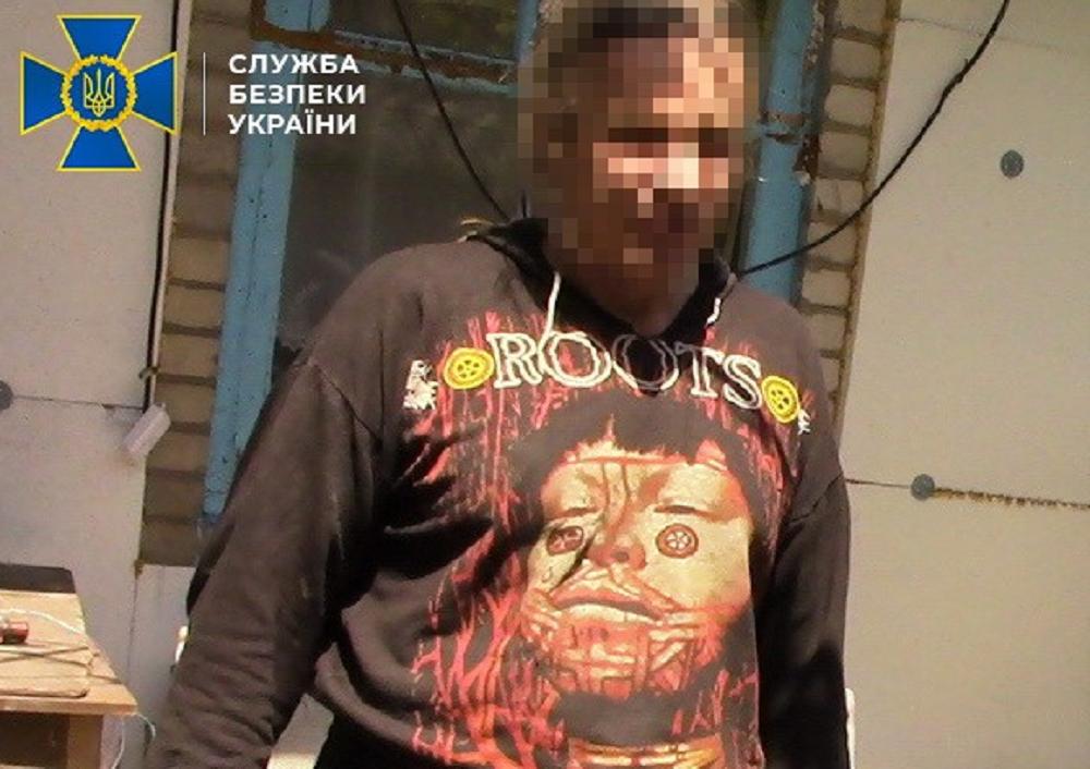 Бойовик був присутній на допитах та знущаннях з військовополонених і заручників / facebook.com/SecurSerUkraine