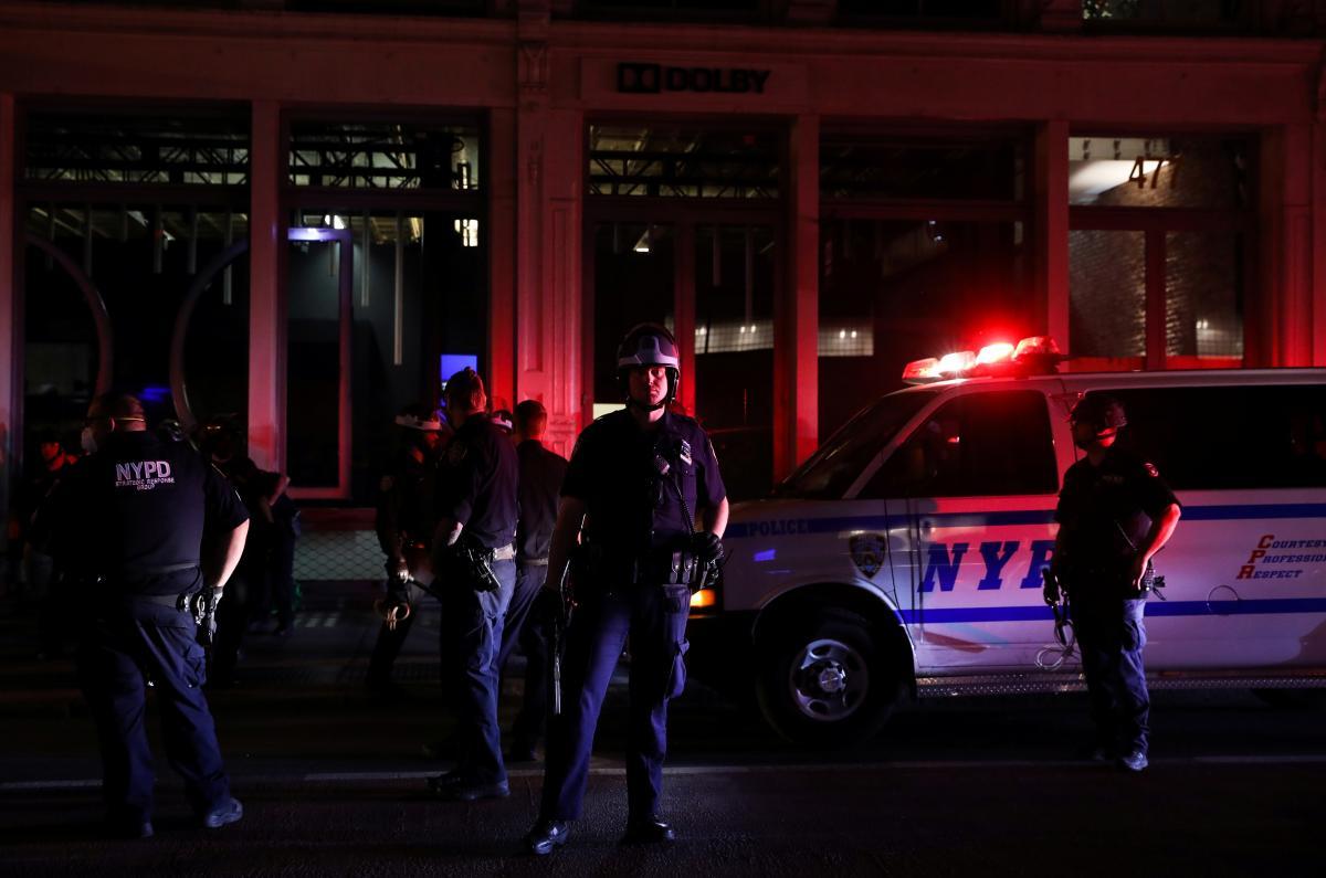 Протесты в США / фото REUTERS