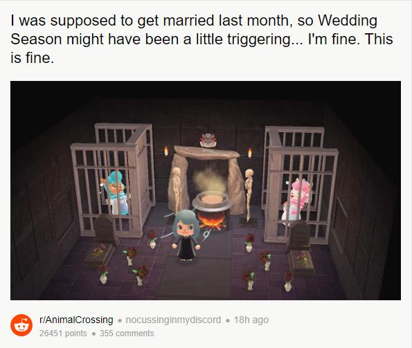 Необычная декорация для свадьбы / reddit.com