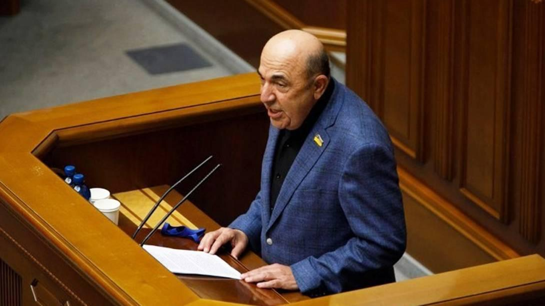 Вадим Рабинович звернувся до нардепів