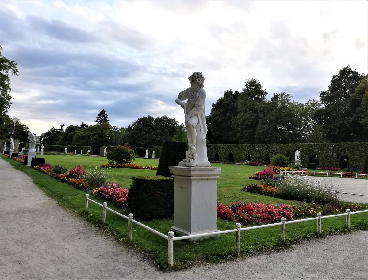Міський сад Паластгартен в Трірі / фото Марина Григоренко