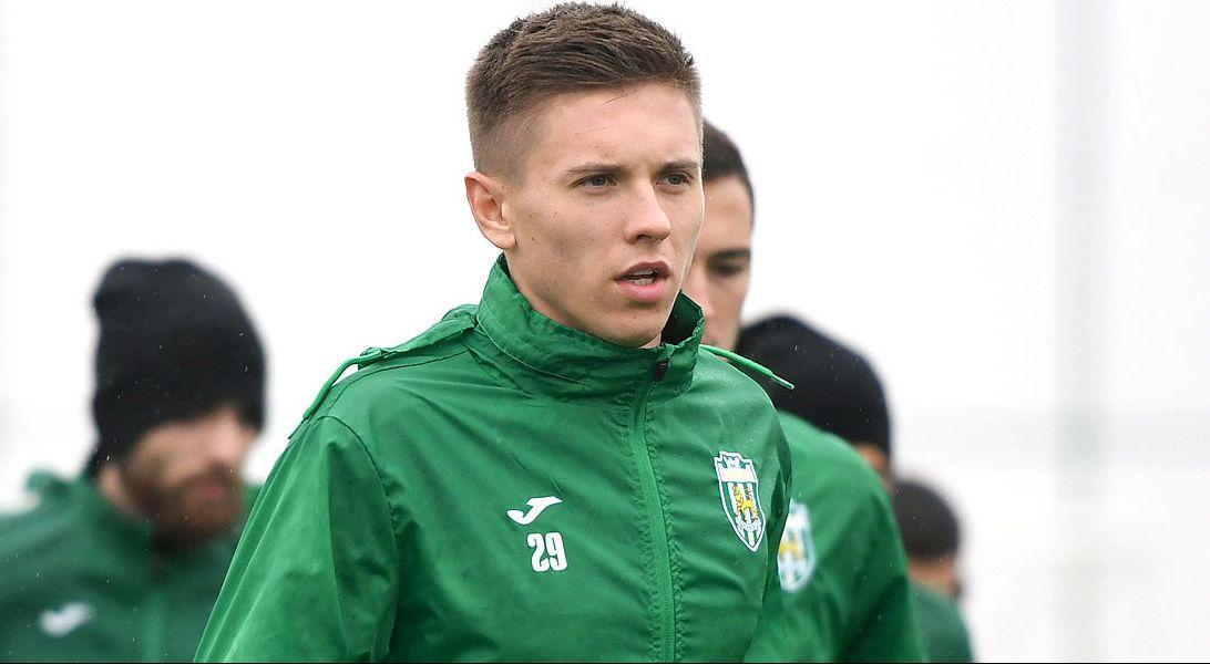 Karpaty Lviv midfielder Yehor Nazaryna says he has tested negative for COVID-19 / Photo from FC Karpaty