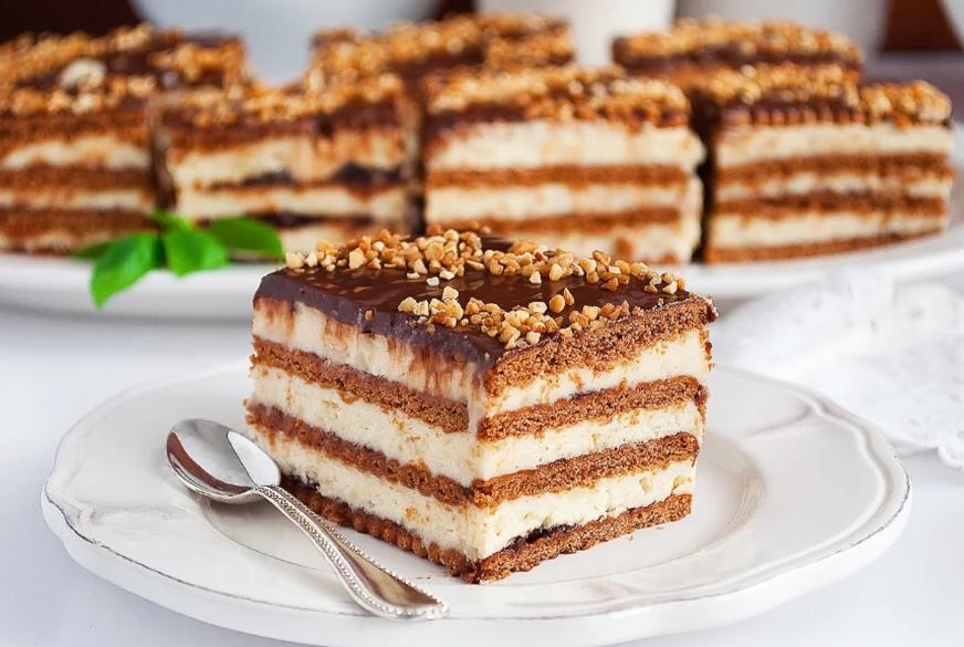Простой рецепт торта без выпечки / фото sm-news.ru