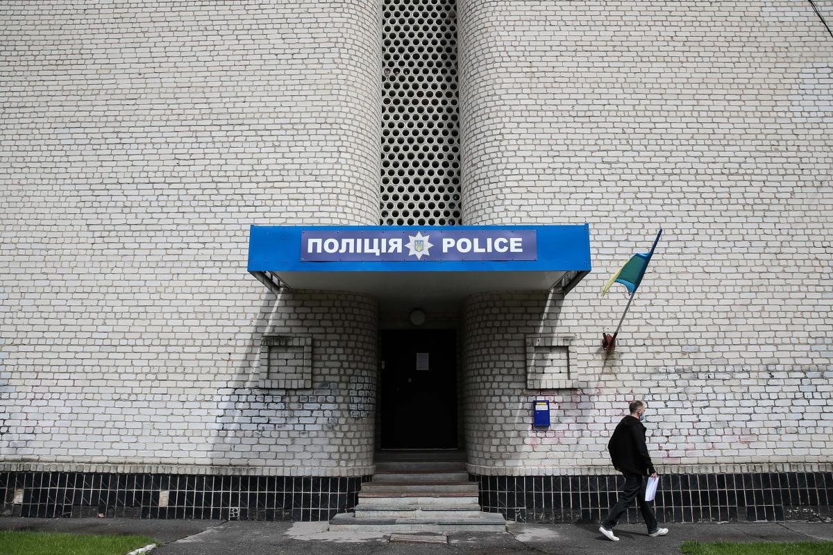 И. о. начальника Переяславского отдела полиции, подчиненные которого запятнали честь мундира убийством ребенка, служит на такой же должности в Яготине / фото УНИАН