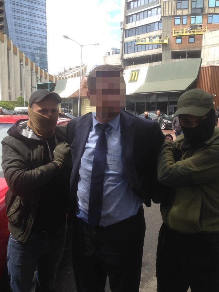 Задержанному готовят сообщение о подозрении / фото Офиса генпрокурора