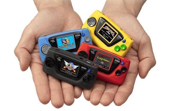 Game Gear Micro- новая консоль от компании SEGA / фото game.nownews.com