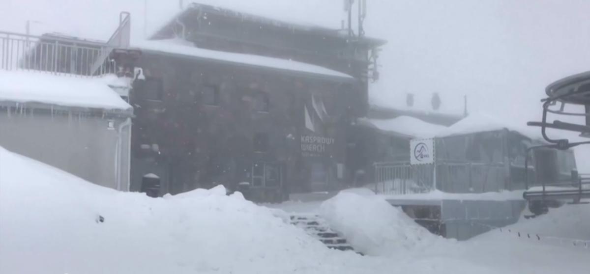 Снігопад в Татрах / REUTERS