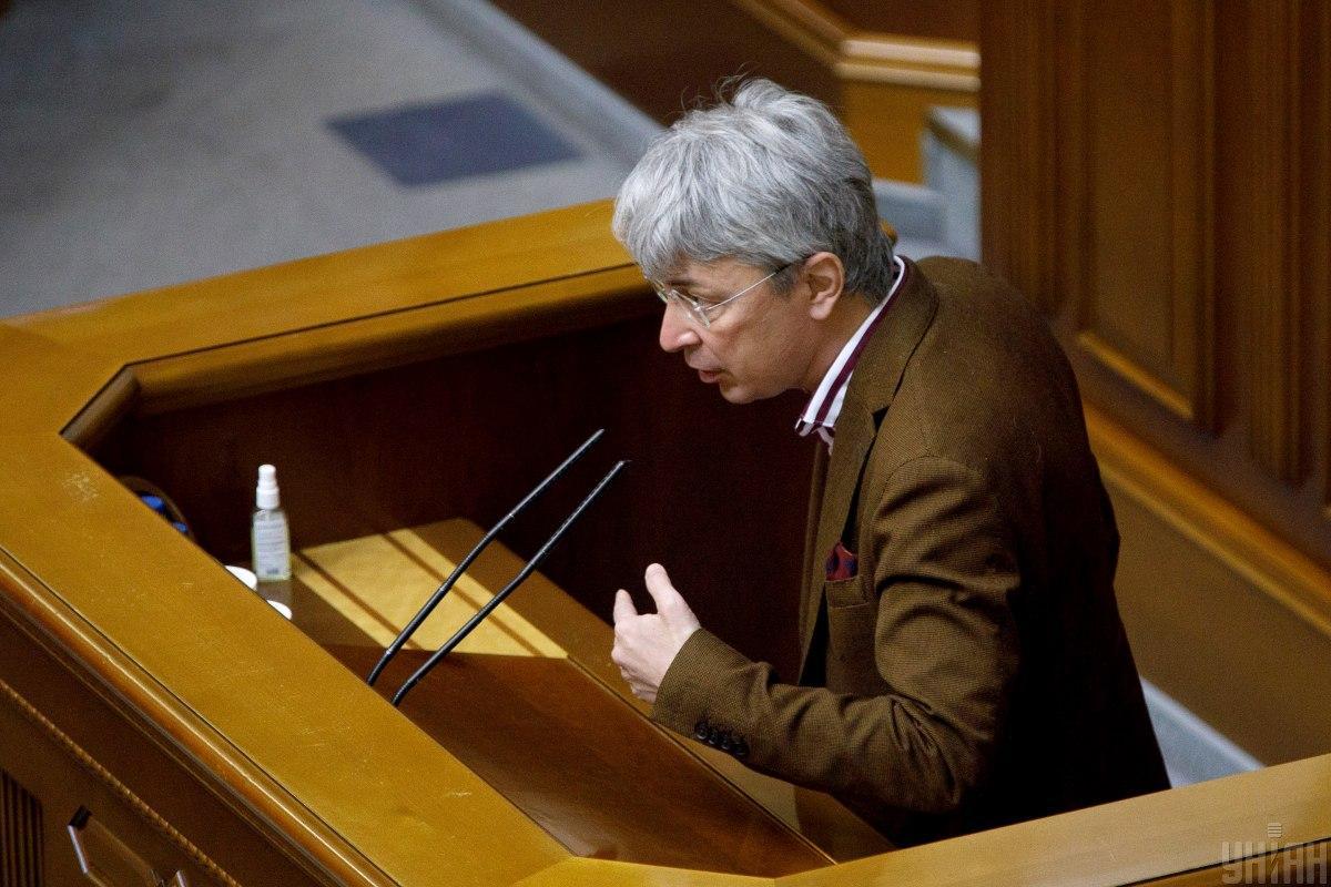 Александр Ткаченко возглавил Минкульт / фото УНИАН