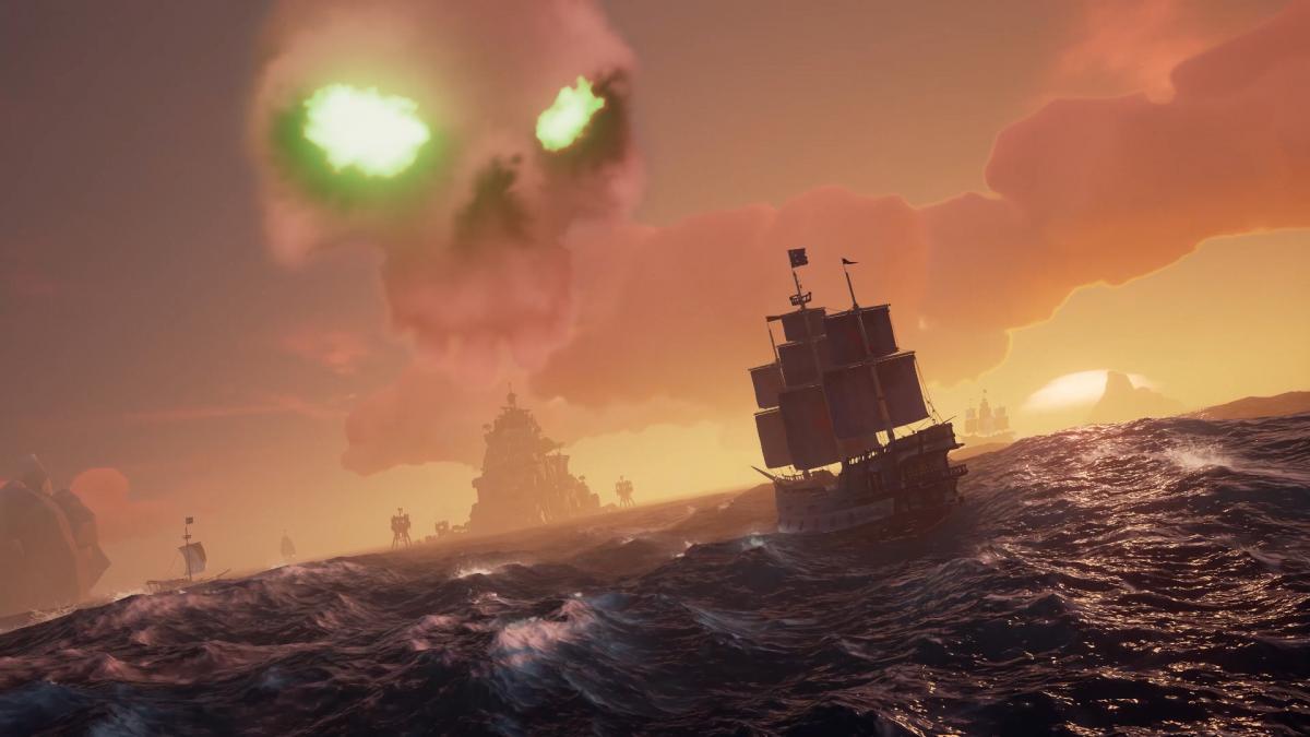 В Sea of Thieves є 11 кооперативних квестів, розрахованих на 30 годин гри / скріншот store.steampowered.com