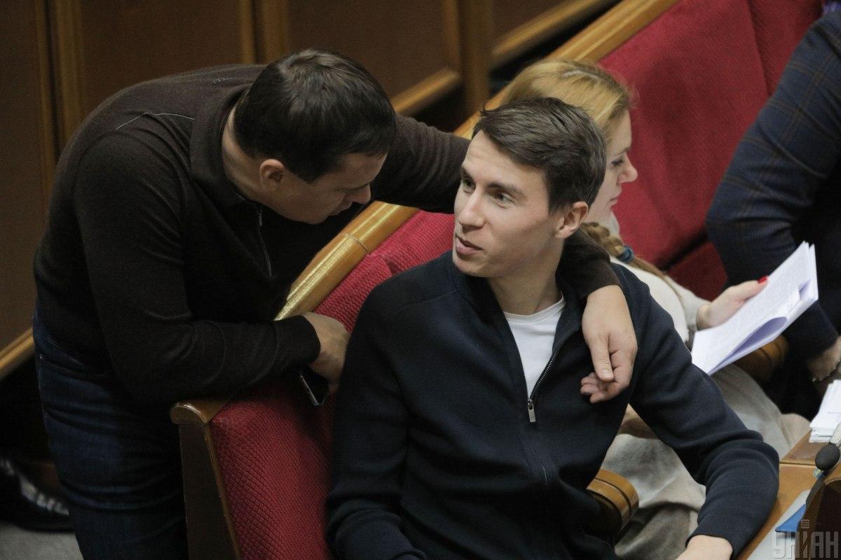 Нардеп Максим Павлюк / фото УНІАН
