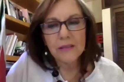 66-річна Марта Люсія Мічер Камарена / кадр: відео @MaluMicher