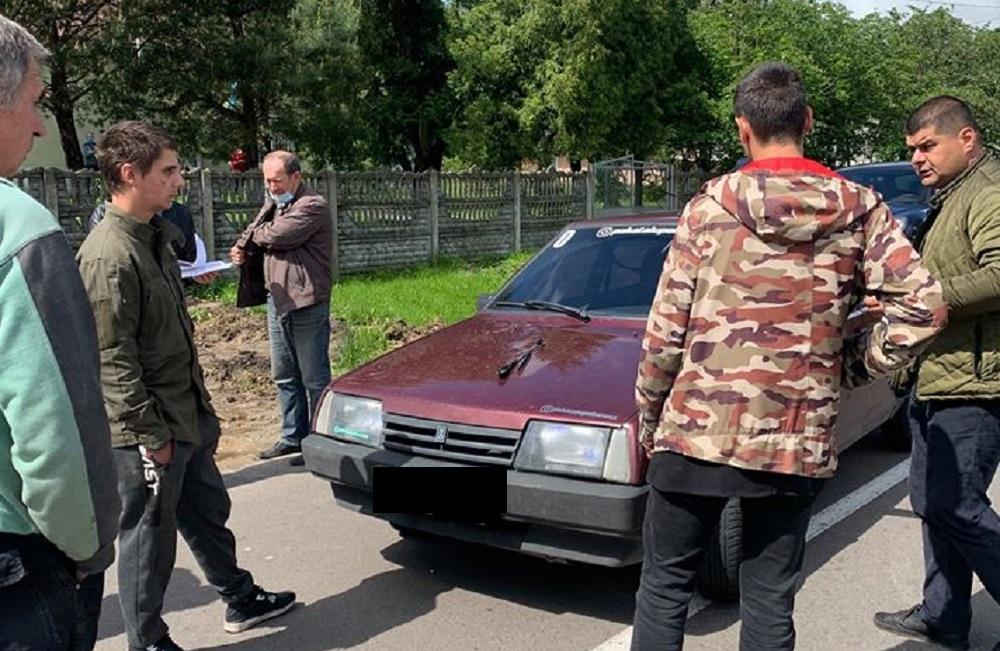 """Львовщина - после """"разговора"""" с сельским головой военный оказался в больнице: фото / Николай Пущак, Faceboook"""