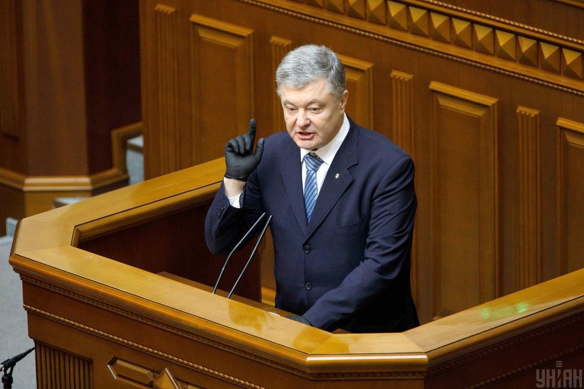Ex-president , MP Petro Poroshenko / Photo from UNIAN