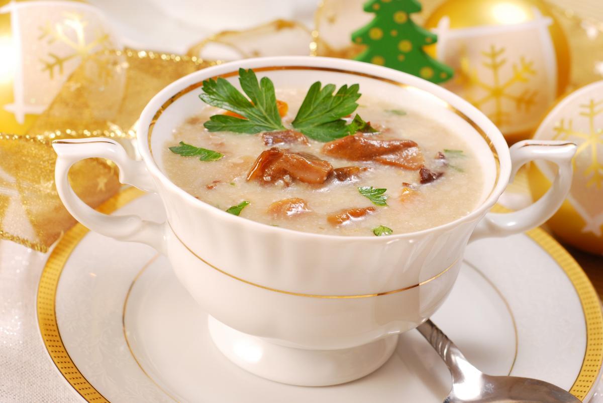 Вкуснейший грибной суп - рецепт / фото ua.depositphotos.com