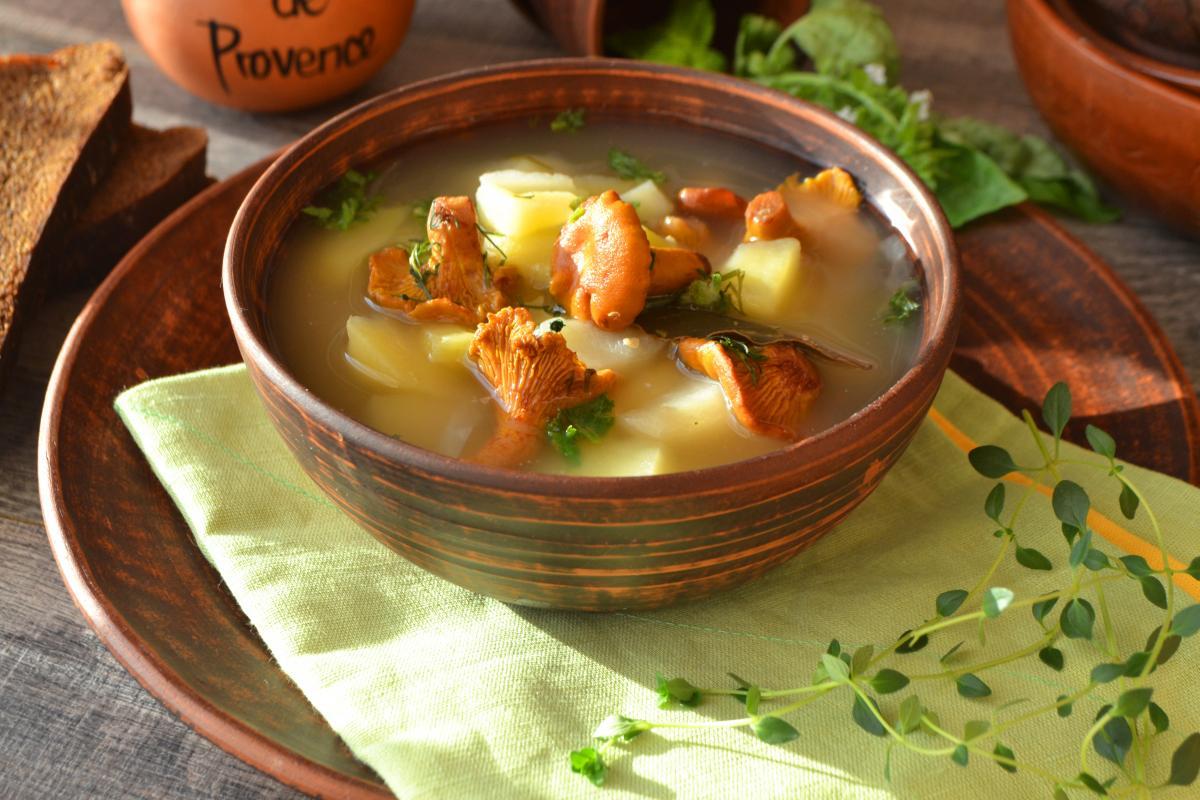 Как приготовить вкусный грибной суп / фото ru.depositphotos.com