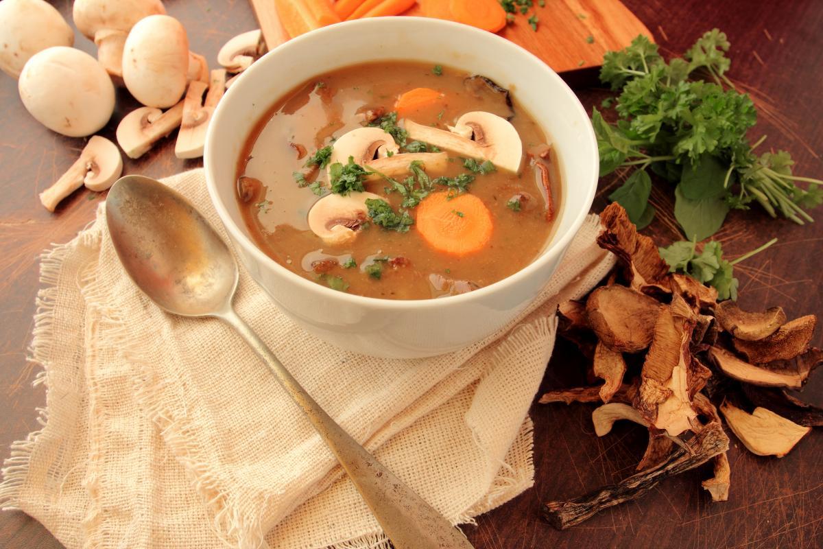 Самый вкусный грибной суп - рецепт / фото ua.depositphotos.com
