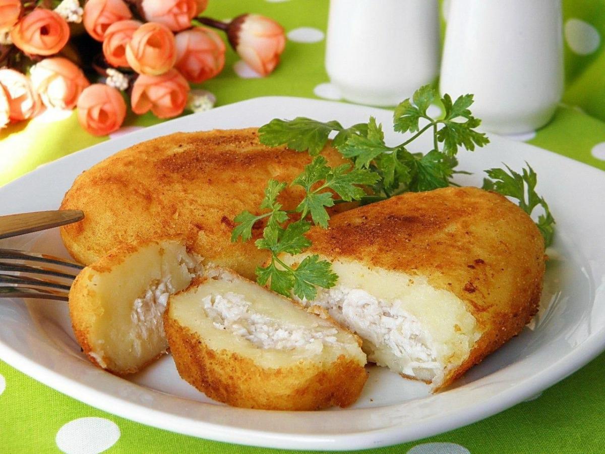 Как приготовить картофельные зразы с мясом / фото pinterest.com