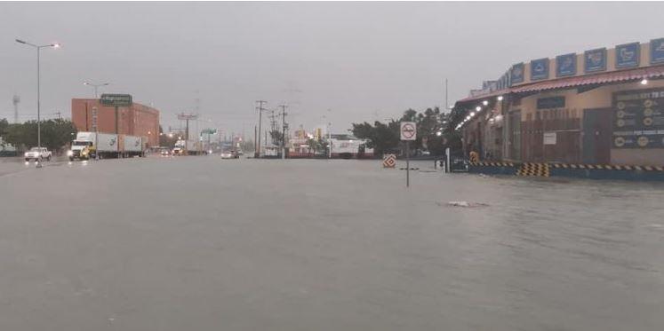 """Тропический шторм """"Кристобаль"""" достиг берегов Мексики/ twitter.com/PorEstoOnline"""