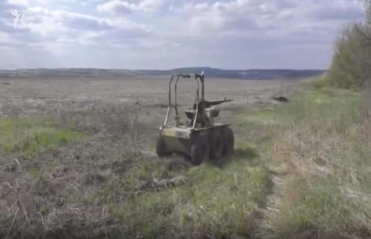 Техніка вразила військових фахівців на передовій / скріншот з відео