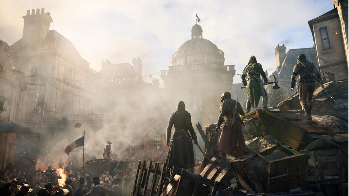 Assassin's Creed: Unity віддають за максимальною знижкою / фото Ubisoft
