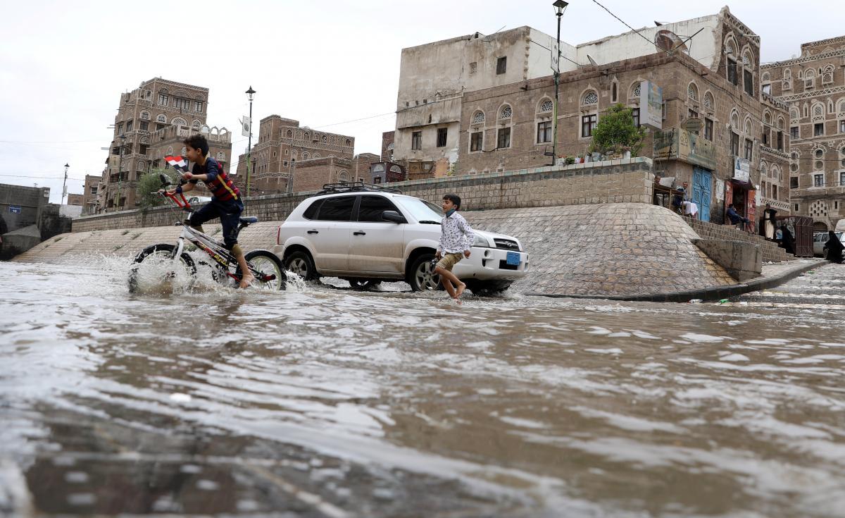Наводнение в Йемене / REUTERS