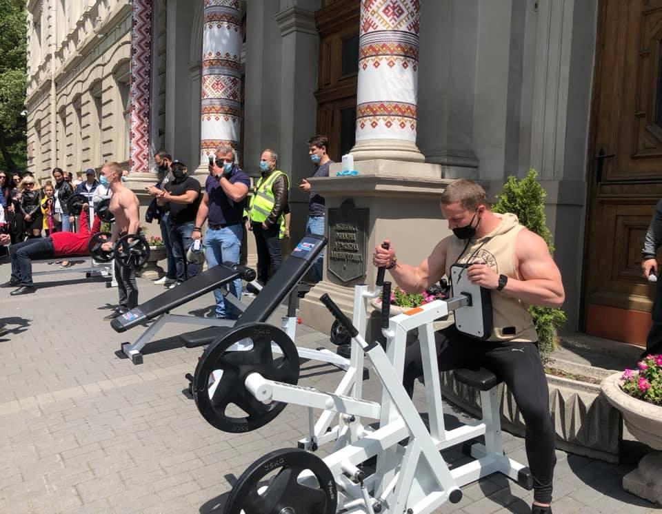 У Львові не працюють фітнес-клуби / Facebook Наталка Волосацька