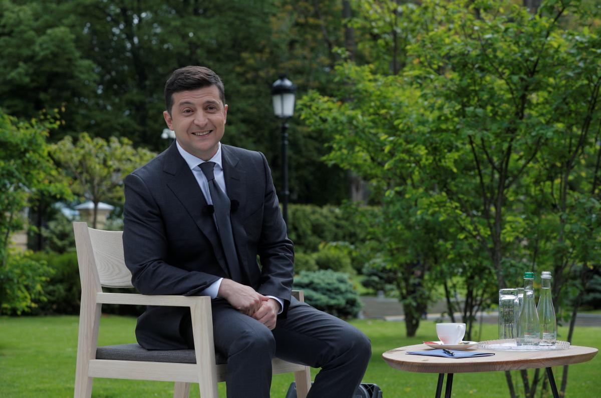 Зеленский готов отказаться от пенсии / REUTERS