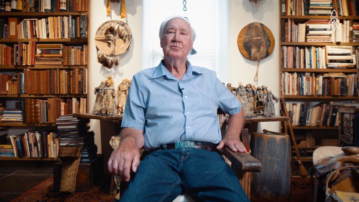 89-річний колекціонер Форрест Фенн заховав скарби 10 років тому / скріншот з відео