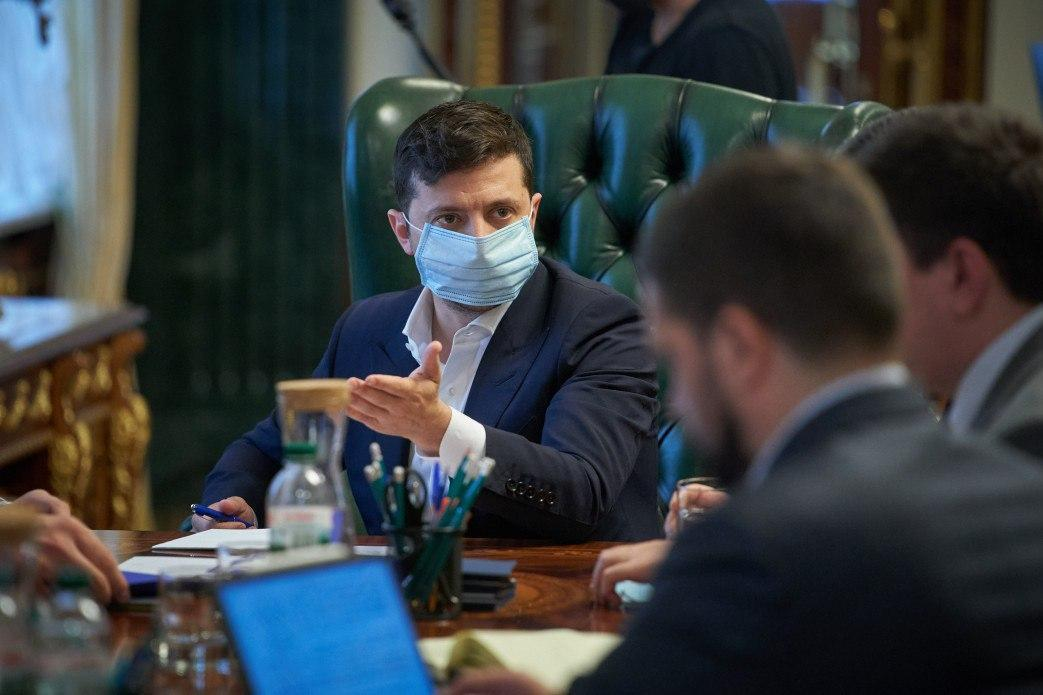 """Zelensky says """"the law is one for all"""" / Photo from president.gov.ua"""