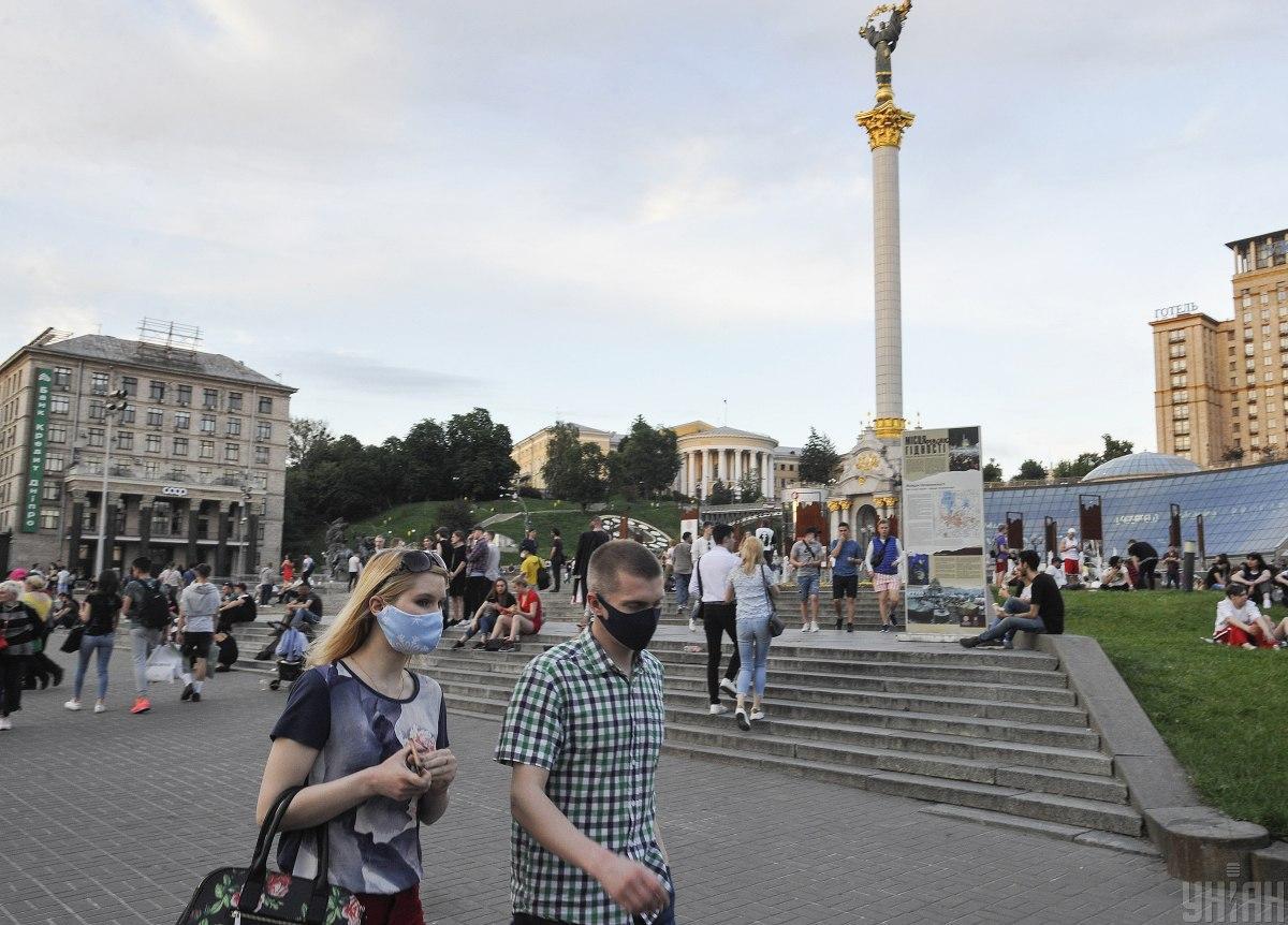 """Киев может остаться в """"оранжевой"""" зоне до марта / фото УНИАН"""