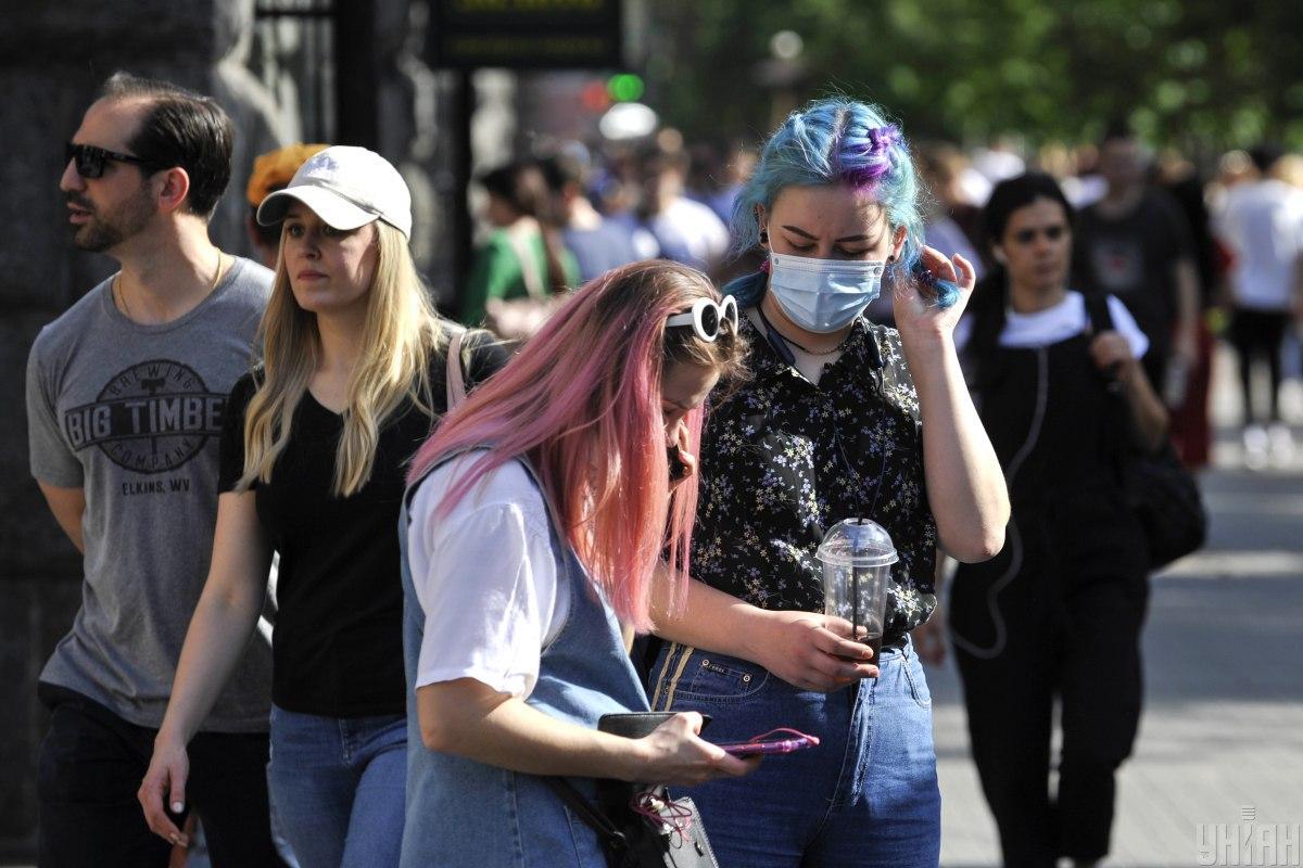 В Украине коронавирусом заболели более 2,2 млн человек / фото УНИАН