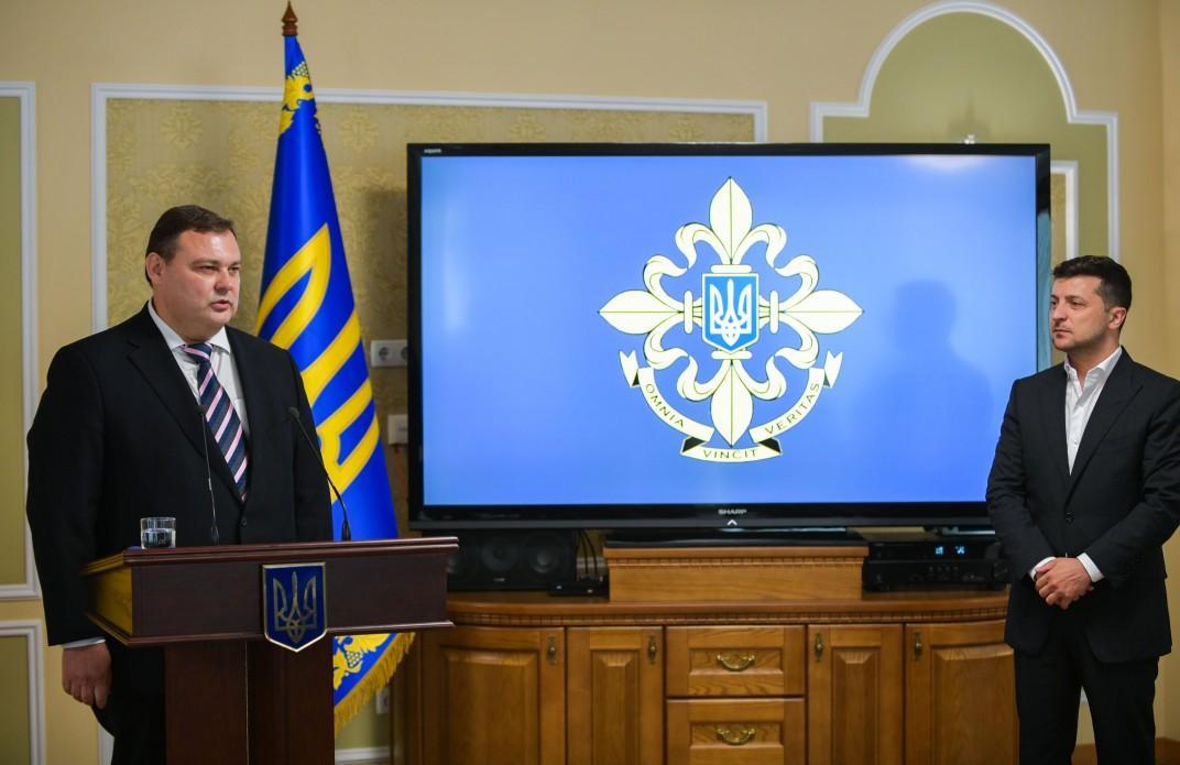 Кондратюк отметил, что приоритетами работы на посту главы СВР является укрепление агентурного аппарата \ president.gov.ua