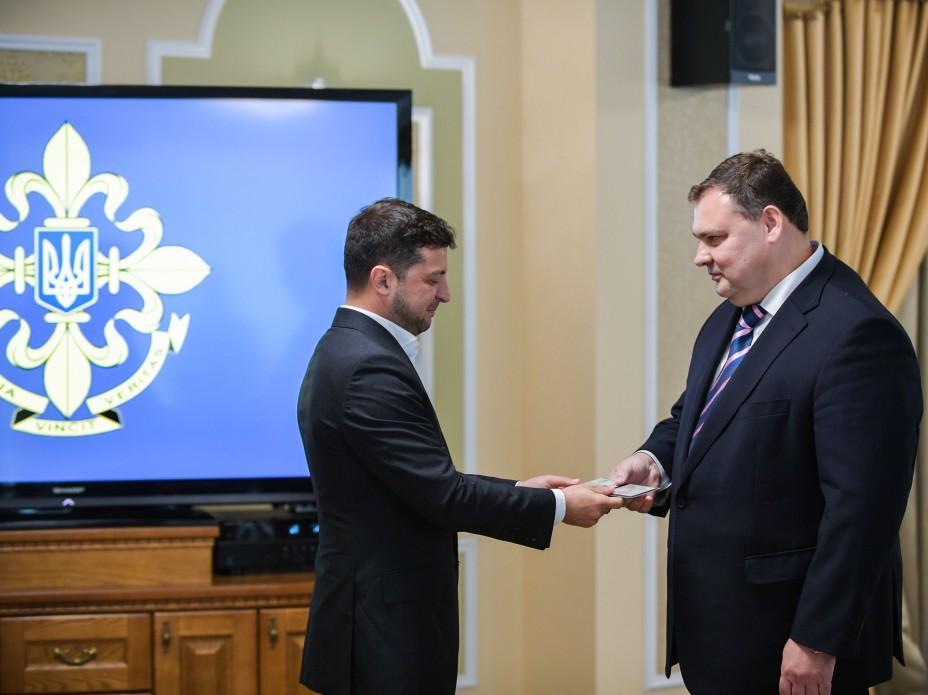 Кондратюк поблагодарил президента за высокое доверие \ president.gov.ua
