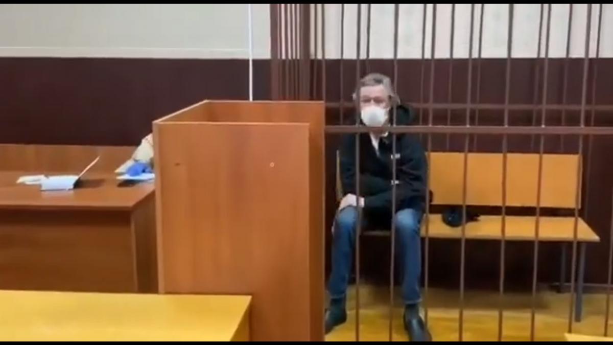 Актер Михаил Ефремов отказался от признания вины в ДТП / скриншот из видео