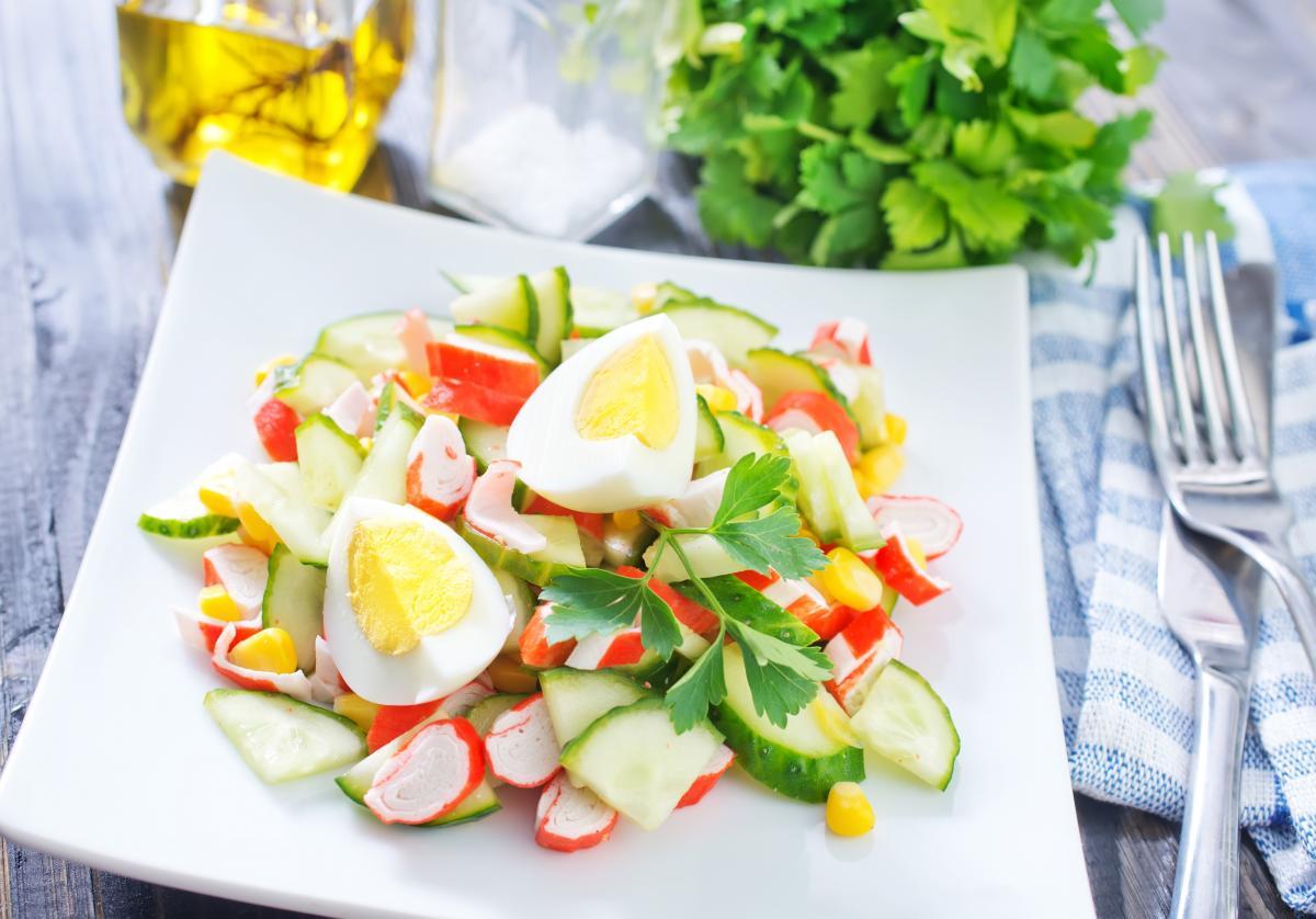 Крабовый салат - рецепт / фото ua.depositphotos.com