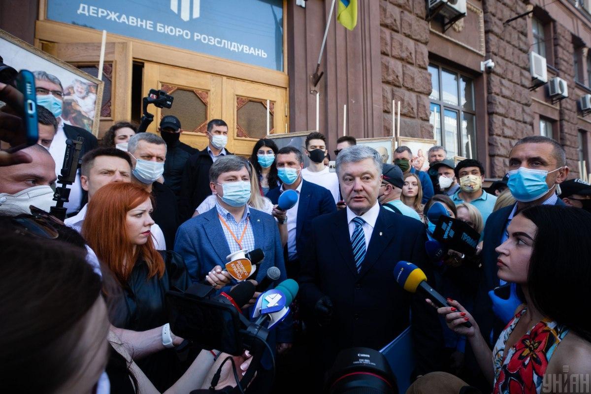 Порошенко отказался получать подозрение / фото УНИАН