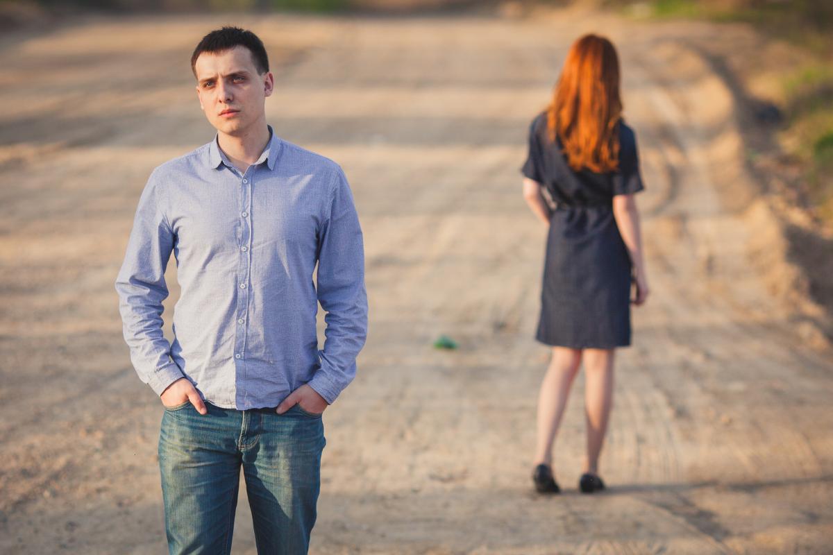Разрыв отношений: как безболезненно завершить роман / фото ua.depositphotos.com