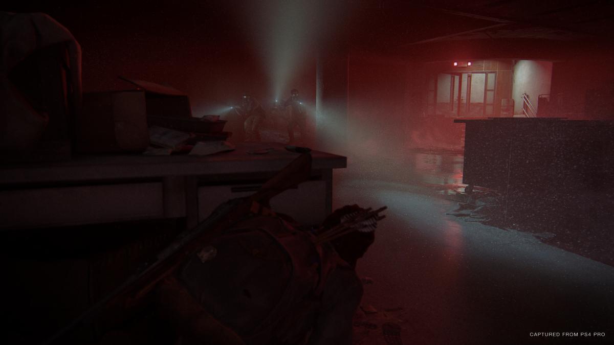 Одна из самых напряженных сцен в игре / скриншот