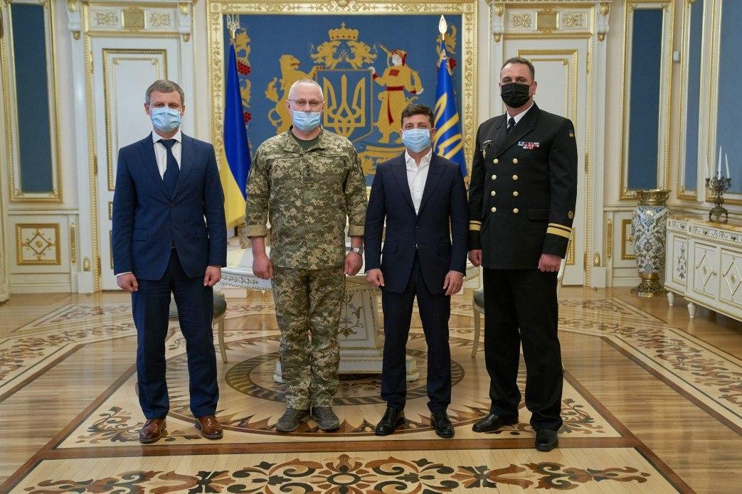 Zelensky has appointed a new Navy commander / Photo from president.gov.ua