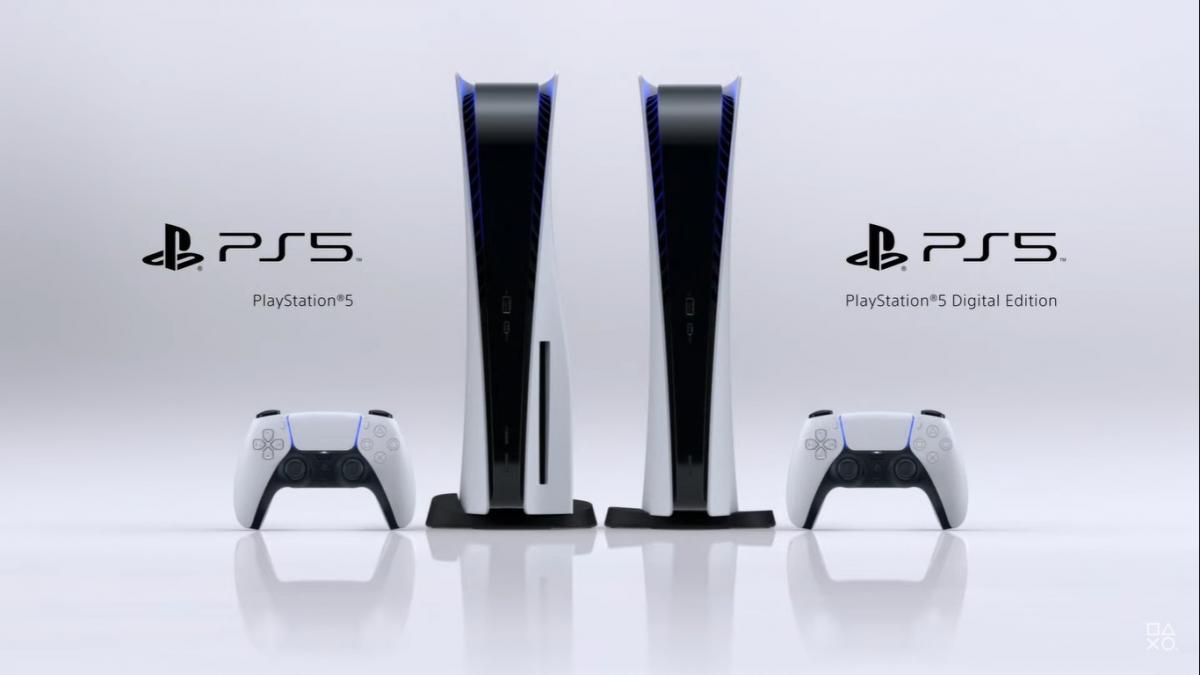 В модельном ряде PS5 две консоли / скриншот из трейлера