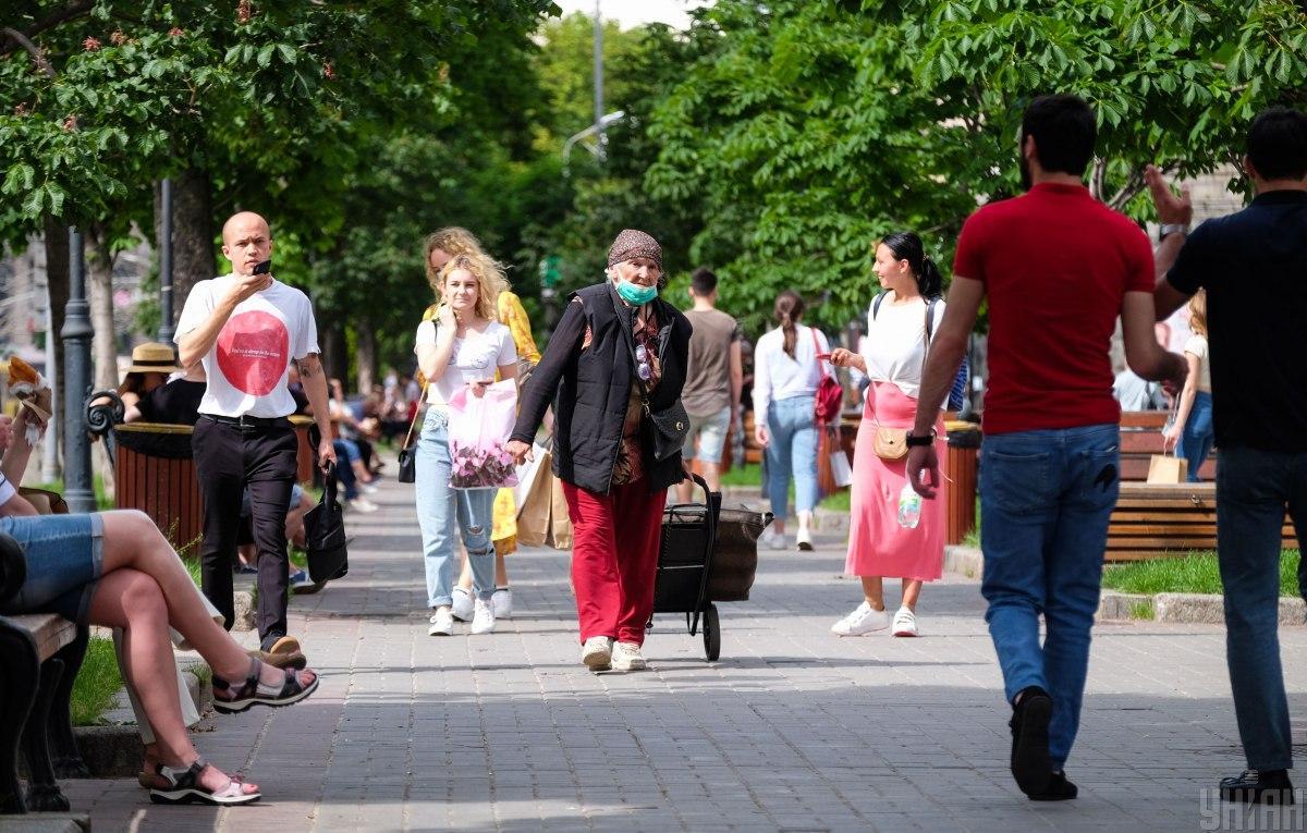 Киев не может переходить на следующий этап ослабление карантина / фото УНИАН