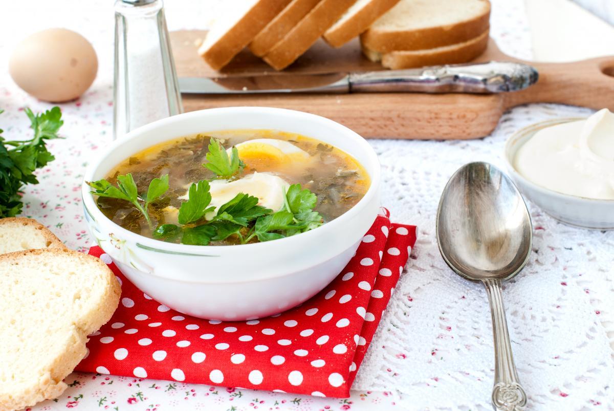 Рецепт вкусного зеленого борща / фото ua.depositphotos.com
