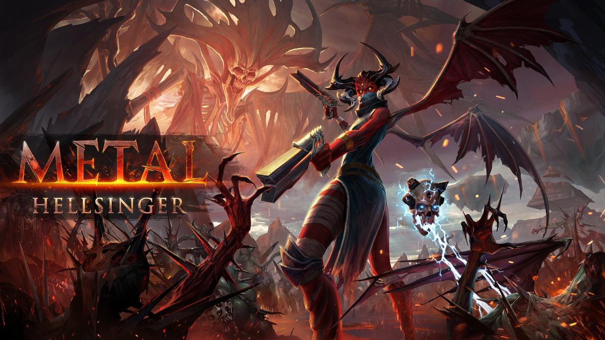Metal: Hellsinger вийде у 2021 році / ілюстрація The Outsiders