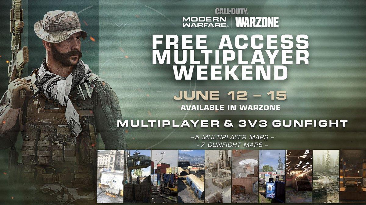 Мультиплеерный режим Modern Warfare буде доступний у Warzone / twitter.com