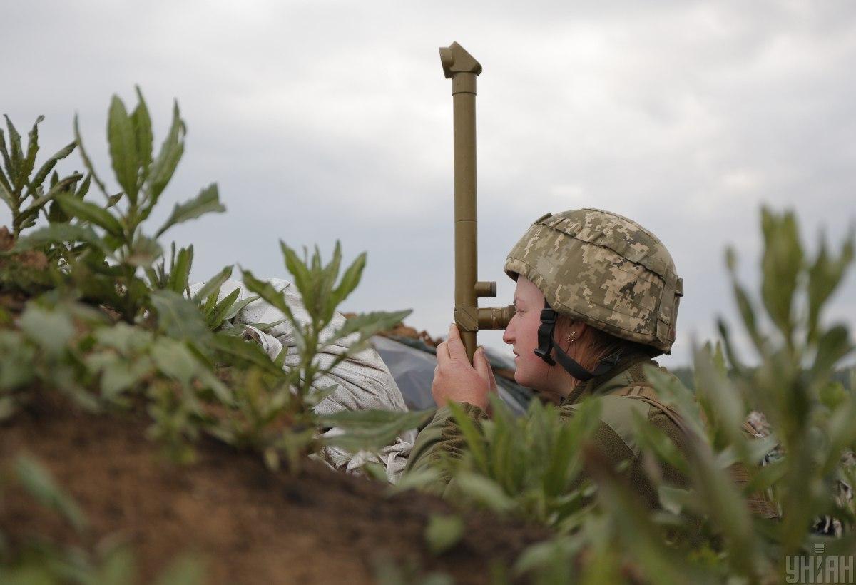 Боевики 14 раз нарушили режим тишины / фото УНИАН