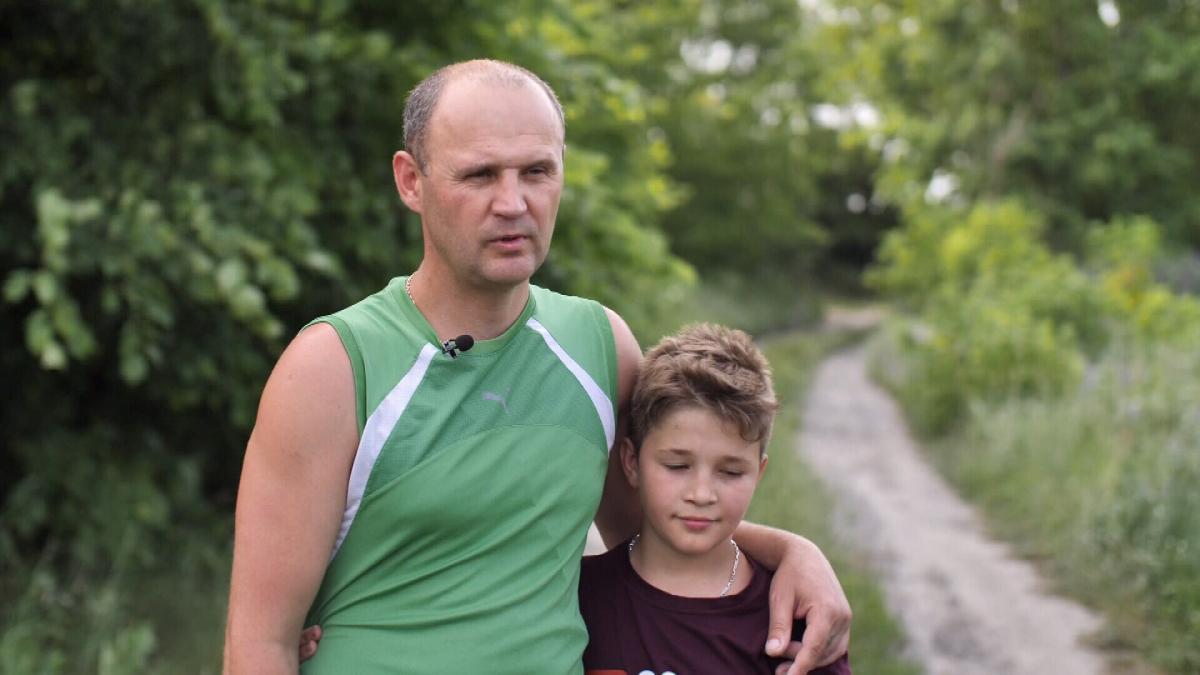 У Сергія Вашкевича з Черкас антитіла на ковід були виявлені ще у січні 2020 року / скріншот