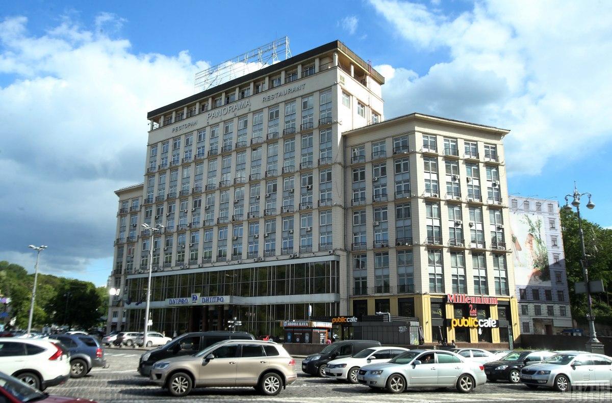 Стартовая цена столичного отеля с момента начала аукциоан выросла почти в 12 раз / фото УНИАН